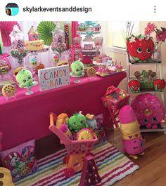 Shopkins theme Birthday Party