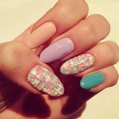 Todo Unhas: Diseños de Uñas Color Pastel - Nail Art Designs with Pastel Colors