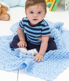 [Free Pattern] Really Cute Blanket And Fast Pattern To Work Up! - Knit And Crochet Daily