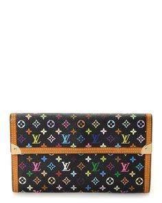Louis Vuitton Monogram Porte Tresor International Wallet - Vintage