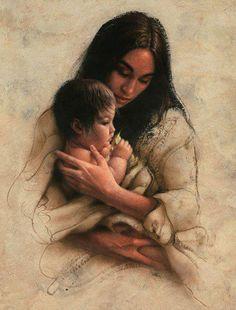 Sacred Gift - Native American art by Lee bogle