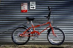 Red USA Mk1 Raleigh Grifter