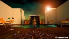 Azotea Tetrishouse Bathtub, Architecture, Digital, Rooftops, Standing Bath, Arquitetura, Bathtubs, Bath Tube, Architecture Design