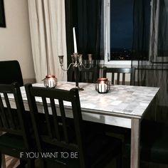 IKEA INGO dining table tiled   IKEA Hackers