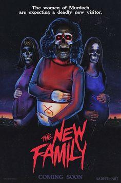 The New Family Horror Movie Slasher Poster
