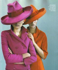 Fashion Flashback: Lily and Freja in British Vogue - Coco's Tea Party