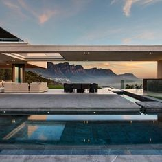 South African studio Saota received a 2016 Architizer A+Award for this residence in Cape Town, which enjoys views of the area's dramatic rock formations.