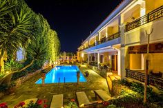 Hotel-Restaurant Aktaion - Posts - Google+ Luxury Rooms, Double Room, Jacuzzi, Sun Lounger, Paths, Terrace, Swimming Pools, Restaurant, Bar