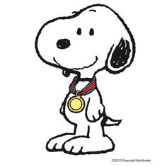 Snoopy at the Olympics!