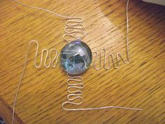 A View at Five-Two: Wire Wrapped Glass Pebble Pendant - Easy Christmas Gift