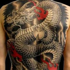 Dragon Tattoo Ideas For Men