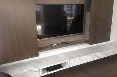 Volakas Marble TV Console