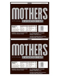 FREE Mother's Day wrappers for Hershey Bars - now what mom wouldn't love a Hershey Bar???