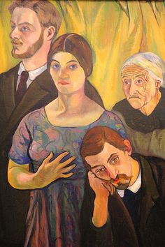 Suzanne Valadon, her lover, mother and son.