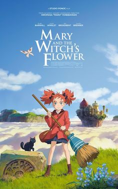 The UK poster for Mary and the Witch's Flower