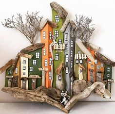Author # @ rebelrockhouse # # # houses # # instamir # # interior # # decor # # zärtlichkeit Source by decoration wood lamp decor lamp Painted Driftwood, Driftwood Wall Art, Driftwood Projects, Driftwood Signs, Driftwood Ideas, Beach Crafts, Diy And Crafts, Natural Wood Crafts, House On The Rock