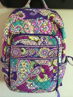 Vera Bradley Campus Backpack In Heather
