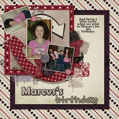 Here is a layout made using Fit 2 Be Scrapped's new kit Star Student.  You can find the kit at her Scraps N Pieces store here: http://www.scraps-n-pieces.com/store/index.php?main_page=index&manufacturers_id=34  It is also on sale for a limited time at 50% off.