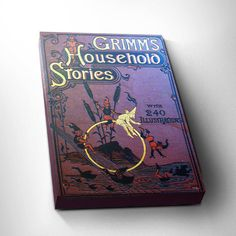 Brothers Grimm Fairytale Print  Bookworm by DareToDreamPrints