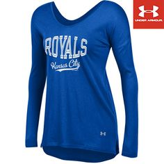 Kansas City Royals Women's Long Sleeve Flow Tee Under Armour® - MLB.com Shop