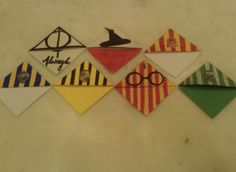 My geeky Harry Potter stuff Carte Harry Potter, Harry Potter Fiesta, Harry Potter Bookmark, Harry Potter Theme, Harry Potter Birthday, Harry Potter Diy, Fun Crafts, Diy And Crafts, Crafts For Kids