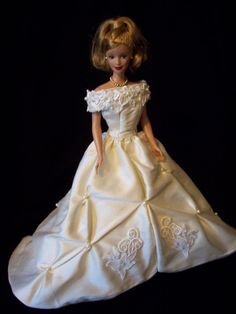 Barbie Wedding Gown - Etsy