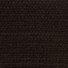 Colonial Braided Rug Co - Solid Dark Brown Braided Rug, $59.70 (http://www.colonialrug.com/solid-dark-brown-braided-rug/)