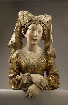 Reliquary Bust of St. Mary Magdalene by Michel Erhart, 1475-1480.