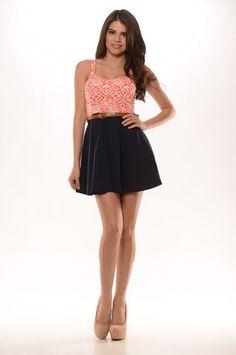 Blew Me Away (Coral) - $25.99  #FashionNova