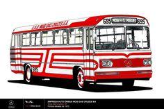 Empresa Auto Ônibus Mogi das Cruzes S.A Mercedes Benz Bus, Bristol, Bus Art, Busses, Big Trucks, Public Transport, Transportation, History, Retro
