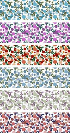 Liberty Fabric, love this print! Liberty Fabric, Liberty Print, Textures Patterns, Print Patterns, Floral Patterns, Ideias Diy, Web Design, Printable Paper, Grafik Design