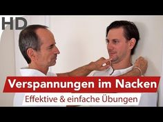 Nackenverspannung - Übung gegen Verspannungen im Nacken - YouTube