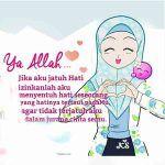 Kata Kata Mutiara Cinta Wanita Muslimah Bergambar