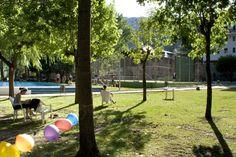 Jardines Exteriores (piscinas exteriores, pista de baloncesto, pista de tennis, mini golg, ping pong, etc.) - Hotel Marvel Condes del Pallars***