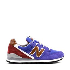 NEW BALANCE M996BB BLUE RED MADE IN USA | Solestop.com