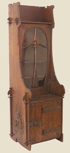 Charles Rohlfs Cabinet