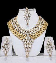 Indian Wedding Jewelry - a different spin on the traditional looking wedding jewelry..g
