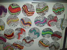Art at East, Union and more...: First Grade Line Art