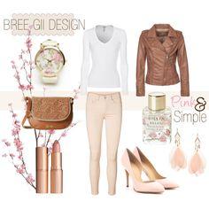"""Pink&Simple"" by breegii on Polyvore"