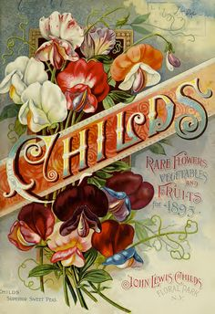 Front cover seed catalog of John Lewis Childs (1895)