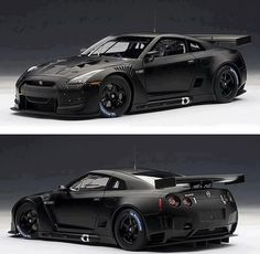Visit The MACHINE Shop Café... ❤ Best of Nissan @ MACHINE ❤ (Black Nissan Skyline GT-R R35)