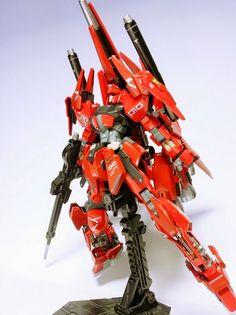 """Custom Build: HGBF 1/144 Mega-Shiki """"Johnny Ridden Use"""" - Gundam Kits Collection News and Reviews"""