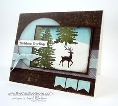 Creative scene - Warmth and Wonder by nyingrid - Cards and Paper Crafts at Splitcoaststampers