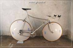 DENTI Mirages Ambrosio Disc Wheels by Logos LoPro Time Trial Cinelli Laser VVGC   eBay