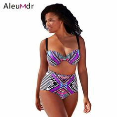 $26.42 (Buy here: https://alitems.com/g/1e8d114494ebda23ff8b16525dc3e8/?i=5&ulp=https%3A%2F%2Fwww.aliexpress.com%2Fitem%2FPlus-Size-2pcs-Celebrity-Tawny-Underwire-Swimsuit-LC41901%2F32671534949.html ) Plus Size girls swimwear women High Waist Bikini Swimsuit Padded Push Up Brazilian Maillot De Bain Bathing Suit Biquini 41901 for just $26.42