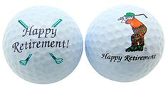 Happy Retirement Set of 2 Golf Ball Golfer Gift Pack * Click image to review more details. Note:It is Affiliate Link to Amazon.