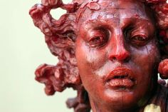 """1,505 Me gusta, 9 comentarios - Javier Marin Escultor (@javiermarinescultor) en Instagram: """"#JavierMarin, #JavierMarínEscultor, #escultura  de #resina poliéster con #tabaco y #óleo.…"""""""
