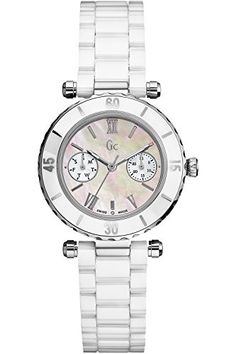 GUESS COLLECTION G35003L1,Ladies Quartz,Dress Elegant,Multifunction,Sapphire Crystal,Screw Crown,100m WR >>> Details can be found by clicking on the image.