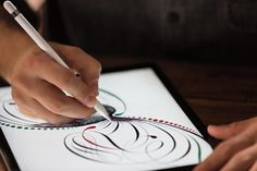 Are You Ready for the iPad Pro?: The iPad Pro supports the all-new Apple Pencil, a stylus created the Apple way. Ipad Pro Apps, New Ipad Pro, Stylus, Adobe Photoshop Fix, Tim Cook, Apple Pencil, Iphone 6s Plus, Apple Launch, Best Ipad