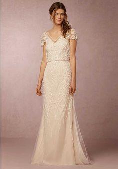 BHLDN Aurora Gown Wedding Dress photo